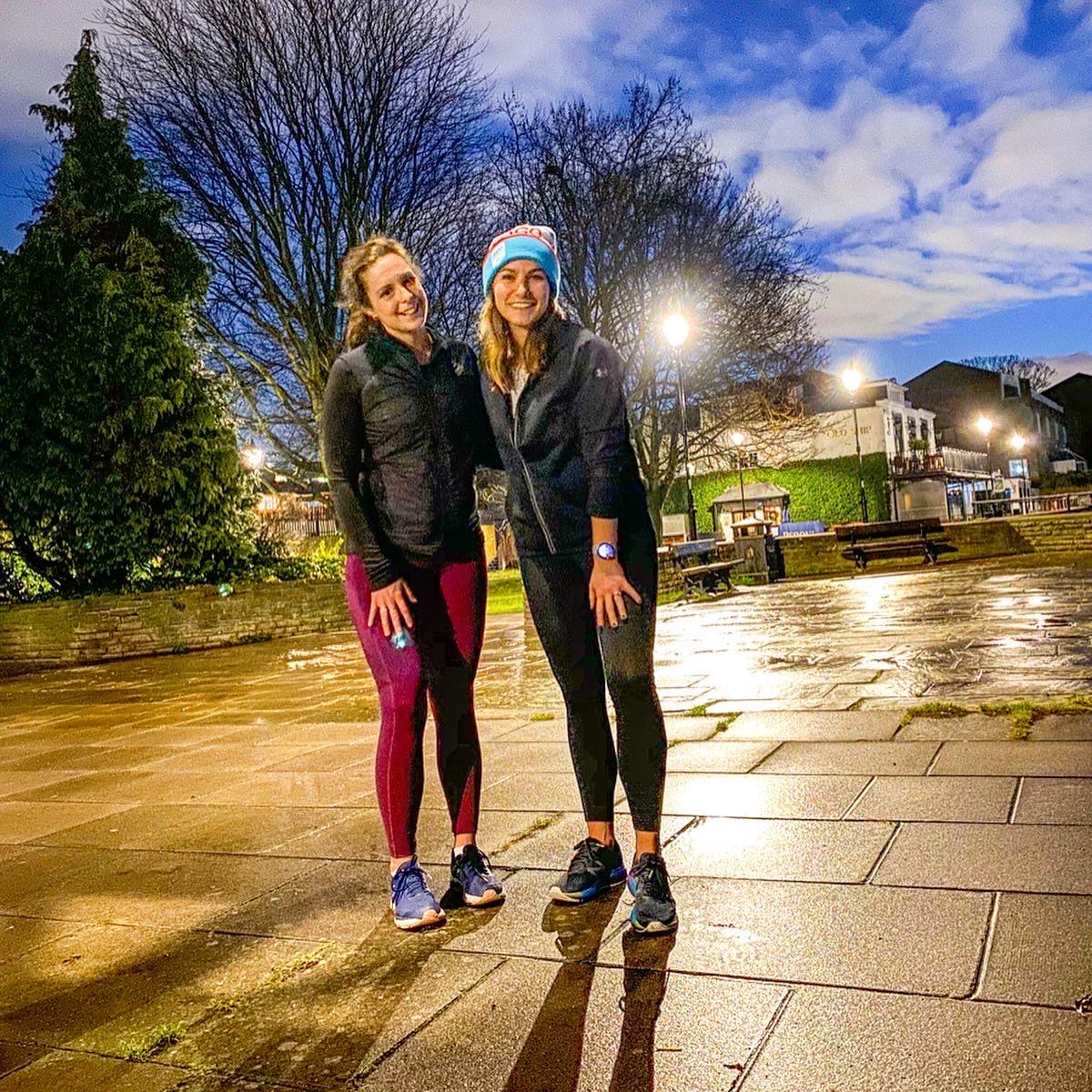 Manchester marathon training